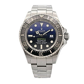 Men's Rolex Sea-Dweller Deepsea, Stainless Steel, Blue Dial, 116660