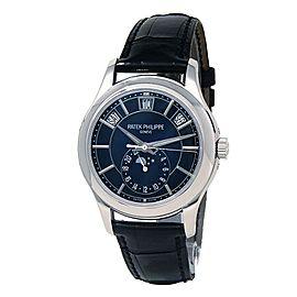 Patek Philippe Complications 18k White Gold Men's Watch Automatic 5205G-013