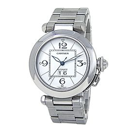 Cartier Pasha C Stainless Steel Date Automatic Men's Watch W31055M7