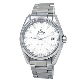 Omega Seamaster Stainless Steel Quartz Silver Men's Watch 231.10.39.60.02.001