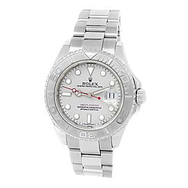 Rolex Yacht-Master Stainless Steel Oyster Automatic Platinum Men's Watch 16622