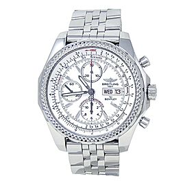 Breitling Bentley GT Stainless Steel Chronograph Automatic Men's Watch A13362