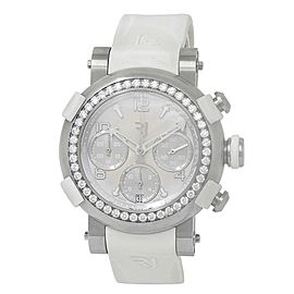 Romain Jerome Arraw Marine Titanium Diamonds Silver Watch 1M42C.TTR.2520.RB.1101