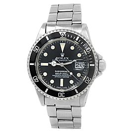 Rolex Submariner Stainless Steel Oyster Automatic Black Men's Watch 1680