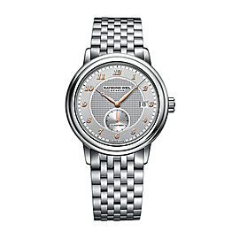 Raymond Weil Maestro 2838-S5-05658 Bracelet 39.5mm Mens Watch