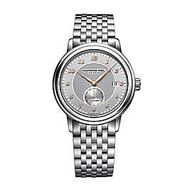 Raymond Weil Maestro 2838-S5-05658 Bracelet 39.5mm Mens Watch