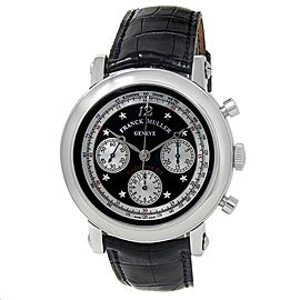 Franck Muller Endurance GT Stainless Steel Automatic Black Men's Watch 7008 CC