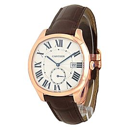 Cartier Drive de Cartier 18k Rose Gold Automatic Men's Watch WGNM0003