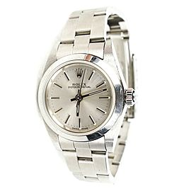 Rolex Datejust 26 mm Steel Ladies Womens Oyster Perpetual Bracelet Watch 78240