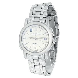 Ulysse Nardin San Marco GMT Stainless Steel Automatic Silver Men's Watch 203-22