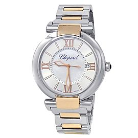 Chopard Imperiale 18k Rose Gold Steel Auto Mother of Pearl Watch 388531-6002