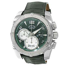 Parmigiani Fleurier Pershing Chronograph Green Men's Watch PFC528-0414100-HA4142