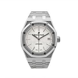 Men's Audemars Piguet Royal Oak Selfwinding 37 Silver dial, 15450ST.OO.1256ST.01