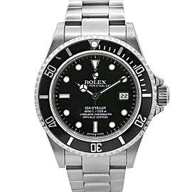 Men's pre-owned Rolex Sea-Dweller 40mm, Stainless Steel, Black dial, 16600