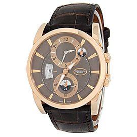 Parmigiani Fleurier Tonda 18k Rose Gold Brown Men's Watch PFC231-1001200-HA1242
