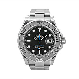 Rolex Yacht-Master 40, Stainless Steel and Platinum, Dark Rhodium Dial, 116622