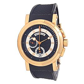 Breguet Marine Chronograph 18k Rose Gold Men's Wach Automatic 5827BR/Z2/5ZU
