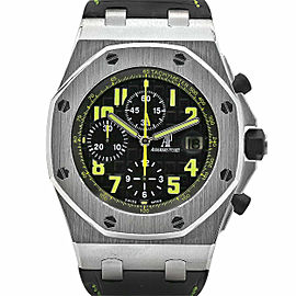 Men's Audemars Piguet Royal Oak Offshore 42, Black dial, 26086ST.OO.D002CR.01