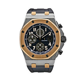 Men's Audemars Piguet Royal Oak Offshore 42, Blue dial, 26471SR.OO.D101CR.01