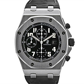 Men's Audemars Piguet Royal Oak Offshore 42, Black Dial, 26470ST.OO.D101CR.03