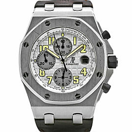 Men's Audemars Piguet Royal Oak Offshore 42, White Dial, 26020ST.OO.D001IN.02.A