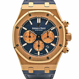Men's Audemars Piguet Royal Oak Selfwinding 41, Blue Dial, 26331OR.OO.D315CR.01
