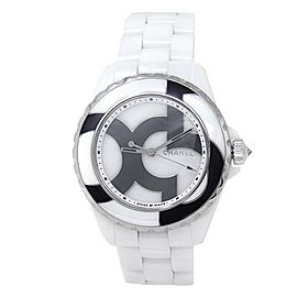 Chanel J12 Untitled 5 Piece Unique White Ceramic Automatic White Ladies Watch