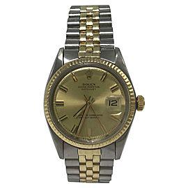 Vintage Rolex Datejust 1601 Vintage 36mm Mens Watch