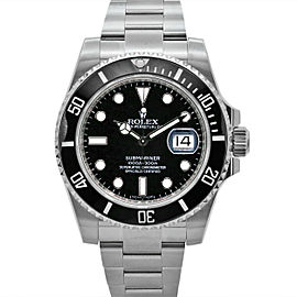 Men's Rolex Submariner Date 40, Stainless Steel, Black dial, 116610LN