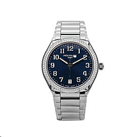 Men's Patek Philippe Twenty~4 36, Steel, Blue Sunburst Dial, 7300/1200A-001