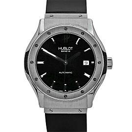 Men's Hublot Classic Fusion 42mm, Titanium, Black dial, 511.NX.1170.RX