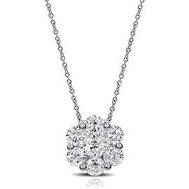 Christmas Special Women's Diamond Pendant & Chain Set
