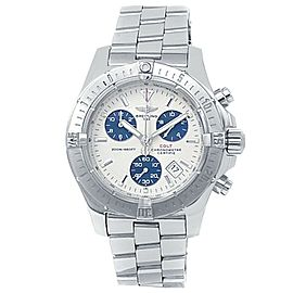 Breitling Colt Chronograph Stainless Steel Quartz Silver Men's Watch A73380