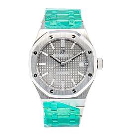 Audemars Piguet Royal Oak Gray Dial Watch Stainless Steel - 15450ST.OO.1256ST.02