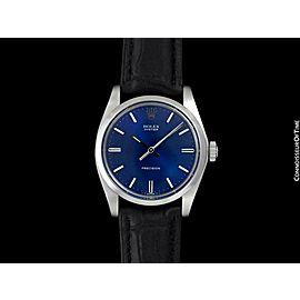 1974 ROLEX OYSTER Vintage Mens SS Steel Watch - Mint with Warranty