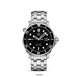 Omega Seamaster 300M Professional Mens Full Size Divers SS Steel Watch - Mint