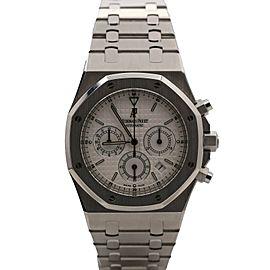 Audemars Piguet Royal Oak Chronograph 40 Steel, Silver Dial 25860ST.OO.1110ST.05