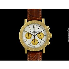 BVLGARI BVLGARI (Bulgari) Mens 18K Gold Watch - $24,995, Minty with Warranty
