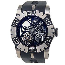 Roger Dubuis Easy Diver Titanium Skeleton Men's Watch SED48-02SQ-71-00/S9000/A1
