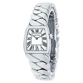 Cartier La Dona Small Stainless Steel Quartz White Ladies Watch W660012I