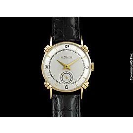 1949 JAEGER-LECOULTRE Vintage Mens Midsize Watch, Beautiful Case - 14K Gold