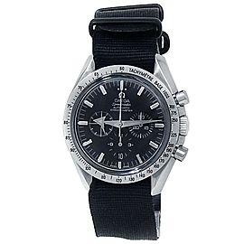 Omega Speedmaster Broad Arrow Stainless Steel Satin Black Men's Watch 3551.50.00