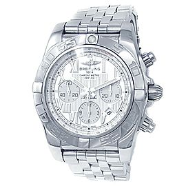 Breitling Chronomat B01 Stainless Steel Automatic Silver Men's Watch AB0110