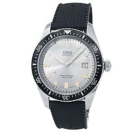 Oris Divers Sixty-Five Stainless Steel Auto Silver Men's Watch 01 733 7720 4051