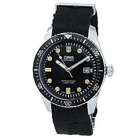 Oris Divers Sixty-Five Stainless Steel Auto Black Men's Watch 01 733 7720 4054