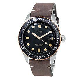 Oris Divers Sixty-Five Stainless Steel Auto Black Men's Watch 01 733 7720 4354