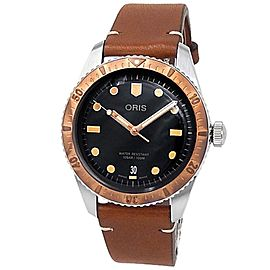Oris Divers Sixty-Five Stainless Steel Auto Blue Men's Watch 01 733 7707 4355