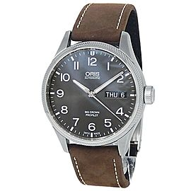Oris Big Crown ProPilot Stainless Steel Auto Grey Men's Watch 01 752 7698 4063