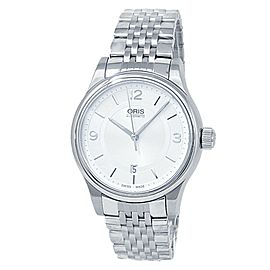 Oris Classic Date Stainless Steel Automatic Silver Men's Watch 01 733 7594 4031