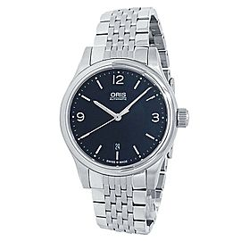 Oris Classic Date Stainless Steel Automatic Black Men's Watch 01 733 7594 4034